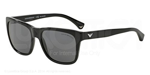 Emporio Armani EA 4041F Men's Sunglasses Black 56