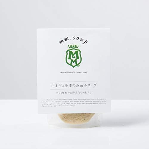 マーゼルマーゼル スープ 箱買い40個セット(オリジナルポーチ付き)【送料無料】 (白葱と生姜の煮込みスープ(180g) × 40個)