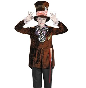 Deluxe Mad Hatter Adult Costume - Medium
