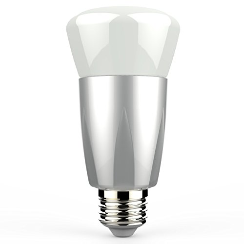 iMagic Bluetooth Smart LED Light Bulb, Personal Wireless Lighting Control, No Network or Gateway Needed, 6.5W, 500lm, Wireless Switch, Timers, Dimmable, Million-Color Adjustable, Free App Upgrade, for Both iPhone and Android Phone Users
