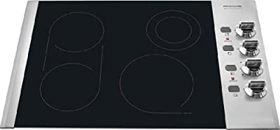 "Frigidaire FPEC3085K 30"" Electric Cooktop with PowerPlus Boil and SpaceWise Bridge Element,"