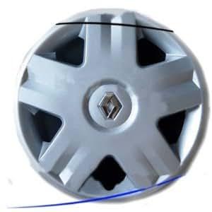 5722/4 Kit 4 copriruota tapacubos Renault Clio Scenic 14 Copas Ruedas círculos: Amazon.es: Electrónica