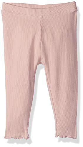 - Gymboree Baby Girls Lettuce Edge Ribbed Leggings, Pink, 6-12 Mo