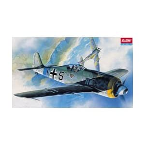 #2120 Academy/Minicraft Focke-Wulf FW-190A6/8 WWII German Fighter 1/72 Scale Plastic Model Kit,Needs Assembly 6