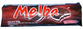 Melba Galletitas Dulces Con Relleno Sabor a Limon 120gr 3 Pack