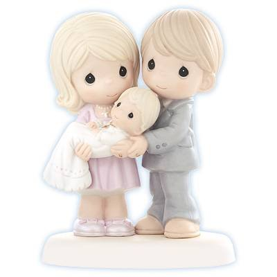 (Precious Moments, Grow In The Light Of His Love, Bisque Porcelain Figurine,)