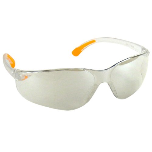 Neiko Ray Series Lab Splash Work Safety Glasses, UV Protect, ANSI Approved Z87.1 - Clear Mirror