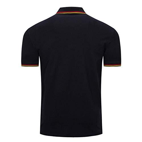 Betrothales pullover Maglione Magliette maglie Blau corte Maniche Uomo Cuel O senza r61xrAwI