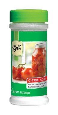 Ball Jar Citric Acid, -