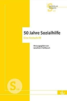 Epub Download 50 Jahre Sozialhilfe: Eine Festschrift (S 10)