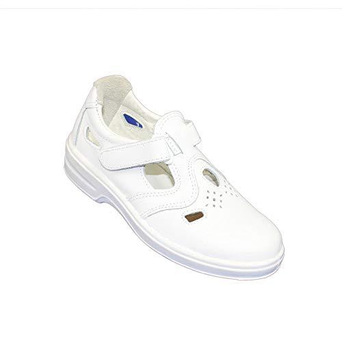 Caminar Sandalia Aimont Blanca Para Seguridad Trabajo De Zapatos Poesia P1 R8wxTq8g0
