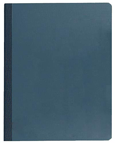 TOPS Lab Notebook, 8.5 x 11 Inches, Narrow Ruled, 60 Sheets, Yellow Pages with Blue Cover, (35130)