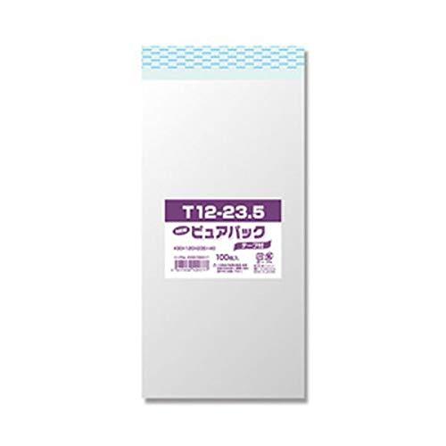 (まとめ)NEWピュアパックテープ付 T12-23.5 1パック(100枚入)【×10セット】 生活用品 インテリア 雑貨 文具 オフィス用品 封筒 14067381 [並行輸入品] B07S42MD72