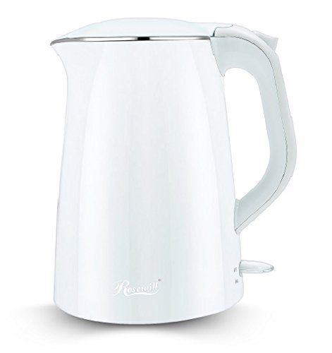 electric tea kettle white - 2
