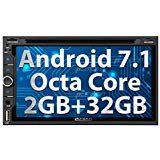 PUMPKIN Android 8.0 Car Stereo (Android 8.0 Car Stereo with DVD)