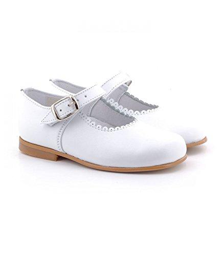 Boni Classic Shoes, Mädchen Schnürhalbschuhe Weiß