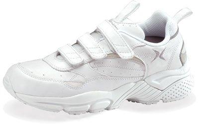 Aetrex Women's Lenex Triple Strap Walker Walking Shoes,White,8 M US