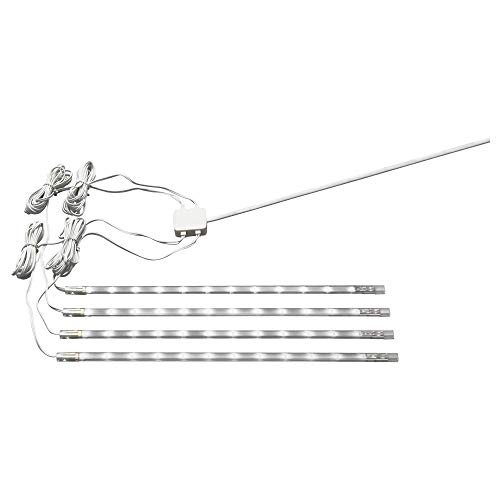 Ikea Set of 4 Dioder White LED Strips Undercabinet Lights