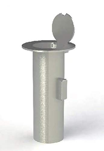 Bollard Embedment Sleeve with Stainless Steel Cover for Removable Bollard