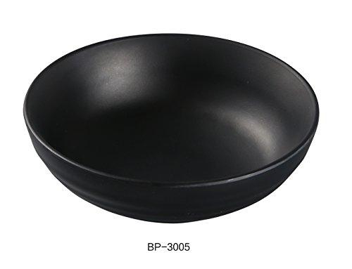 - Yanco BP-3005 Black Pearl-2 Salad Bowl, 8 oz Capacity, 5