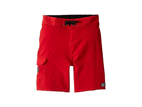 Billabong Kids Baby Boy's All Day Pro Boardshorts (Toddler/Little Kids) Lifeguard Red -