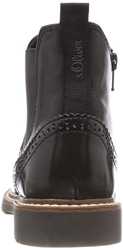 Para 1 S black 25444 oliver Botas Negro Chelsea Mujer 21 zzX1nq