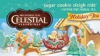 (Celestial Seasonings Sugar Cookie Sleigh Ride Herbal Tea 1 Box of 20 Bags)