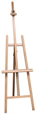 US Art Supply LA JOLLA Classic Artist Lyre Wood Easel by US Art Supply