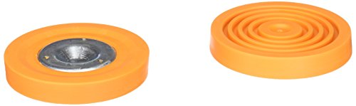 Ladder Accessories 604 Replacement Rubber Feet for 600c Pair  Orange