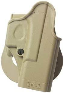 IMI GK1 Polymer One Piece Molded Holster RIGH Handed for Glock Models