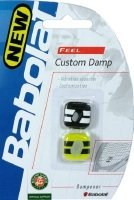 Babolat Custom Damp Vibration Dampener Black/Yellow, 700024_ 142