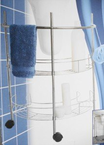 BATHROOM UNDER SINK BASIN 2 SHELF TIDY STORAGE RACK Prime Furnishing
