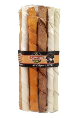 Lennox Group 15 Count Rawhide Express Twisted Sticks, 10