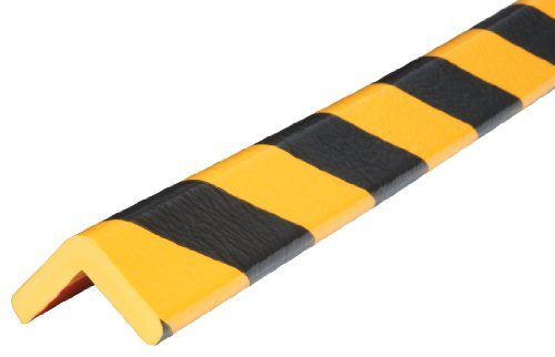 IRONguard 60-6772 Knuffi Model H Corner Bumper Guard Black/Yellow 1M by IRONguard