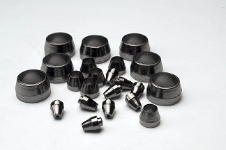 10 Pack Ohio Valley Specialty Co. 1//8 X 0.4mm 100/% Graphite Ferrules GF-48