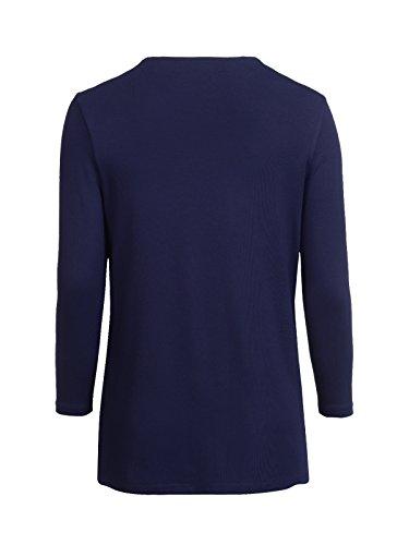 Mocca by J.L. - Camiseta sin mangas - para mujer Marine
