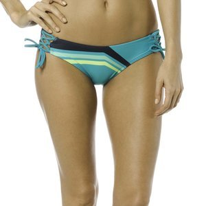 Fox Racing Womens Seca Lace Up Side Tie Bottom X-Large Jade