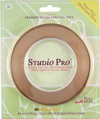 Studio Pro 1/4-Inch Silver Lined Copper Foil ()