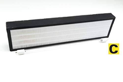 LSE Lighting Combo Pacakge UV Bulb LB5000 and FLT5000 AC5000 Series True HEPA Filter - Uv Filter Replacement Bulb