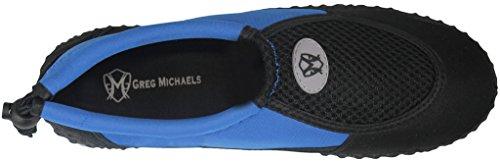 Greg Michaels Herren Wasserschuhe Aqua Socken - hohe Haltbarkeit, angenehm in Wasser und an der Oberfläche zu tragen Royal - 3