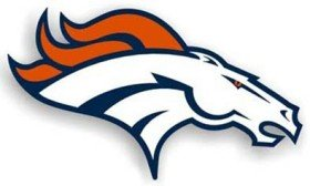 denver broncos metal car emblem - 8