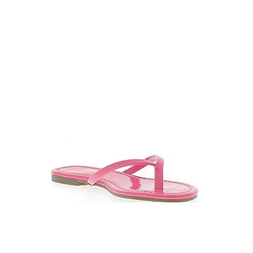 Rosa neón flip-flops para 0,5 cm talonette