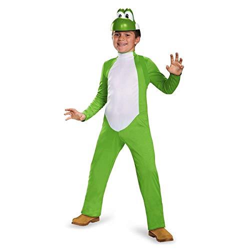 Yoshi Deluxe Costume, Large (10-12) -