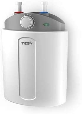 Tesy Compact Clase de eficiencia energ/ética A Termo de Agua El/éctrico Compacto de 6 Litros Con Tomas Superiores y Alta Eficiencia Energ/ética.