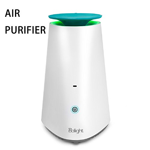 Handfly Powerful HEPA Air Purifier for Home/Office, Odor Allergen Eliminator Ideal For Smoke, Dust, Mold, Pollen, Pet Odor Removal,With Essential Oil Tank(about 200 sq.ft) by Handfly