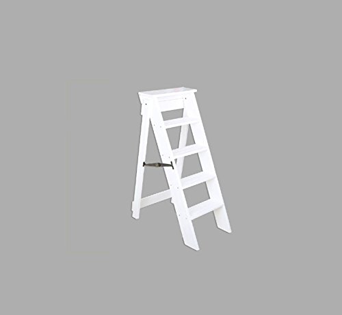 Stool ladder, foldable, easy storage, shelves, shoe stool ( Color : C ) by Xin-stool