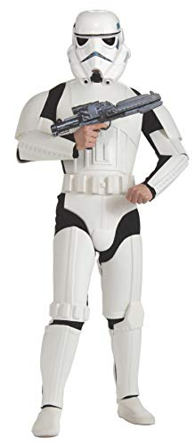 Rubie's Costume Star Wars Deluxe Stormtrooper, White, One Size Costume ()
