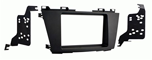 Metra 95-7521B Double DIN Installation Kit for 2012-Up Mazda 5 (Matte Black)
