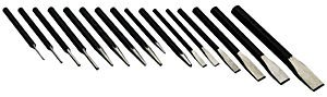 S-K Hand Tool Punch & Chisel Set 16 Pc