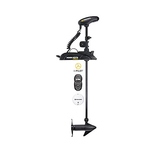 Minn Kota Terrova Freshwater Bow-Mount Trolling Motor with 54-Inch Shaft, and i-Pilot GPS (12-Volt, 55-Pound)